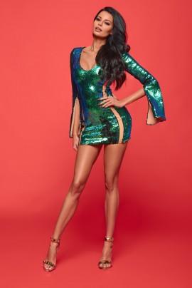 Adaline sequince Dress