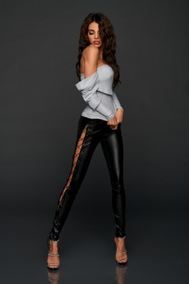 ARIA LEATHER PANTS