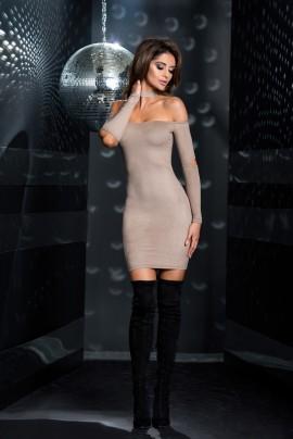 Suede Laura Dress