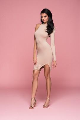 Arm Off Mini Dress