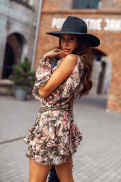 FLOWER AUGUST DRESS -...