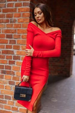 Sukienka sweterkowa midi...