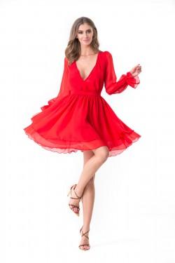 PRINCESS CHIFFON DRESS -...