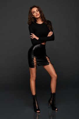 SPRING LEATHER SKIRT SALE