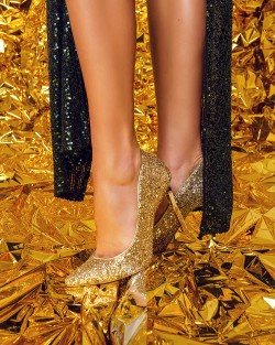 CINDERELLA SHOES GOLD