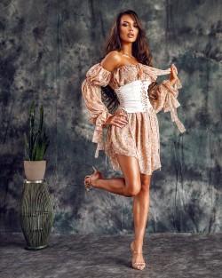 CHAMELI CHIFFON DRESS