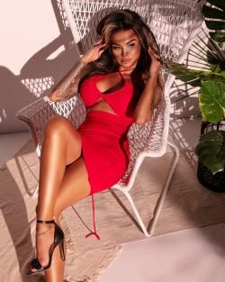 LADY IN RED SEKSI DRESS -...