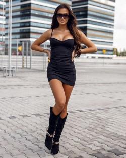 CLASSY BUT SASSY DRESS -...