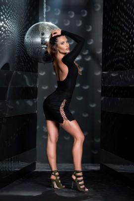 Night Suede Skirt
