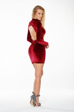 GLORIA VELVET DRESS