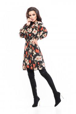 AUTUMN FLOWER DRESS