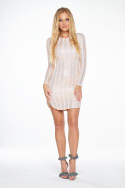 SPARKLY STIPE GRACE DRESS SALE