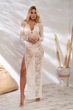 LACE BEACH DRESS - SUKIENKA...