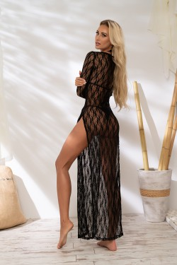 BLACK LACE DRESS - SUKIENKA...