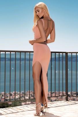 Naked Back Maxi Dress